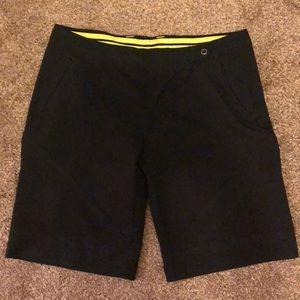 Nike black athletic shorts
